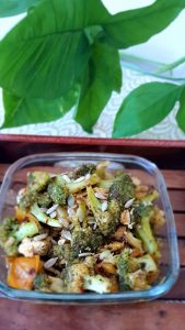 Broccoli Tofu Salad Image