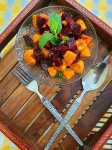 Beetroot Mango Mint Salad Image