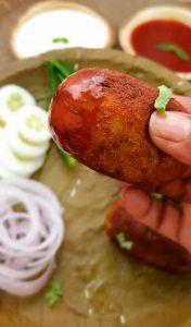 Goan Minced Meat Potato Chops Image