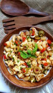 Healthy Macaroni Salad Image